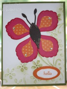 Woodsy Owl's Whimsical World: Butterfly with Blossom Petals Builder punch