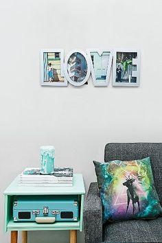 Love Photo Frame in Grey