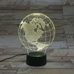 Light your world with The Best Led lamps Lampe Led, Led Lamp, Lamp Light, Illusions, Home Appliances, Free, Sign, Club, 3d