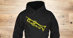 Discover Trumpet (Hoodie) Sweatshirt from Anderson Surreal Graphics only on Teespring - Free Returns and 100% Guarantee - No fancy slogans.  No cutesy statements.  No...