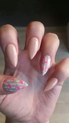 Freehand nail art x
