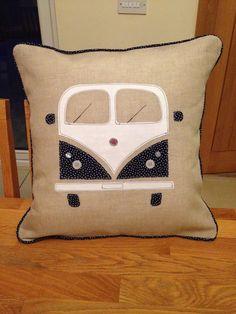 Homemade vw camper cushion