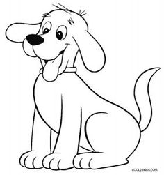 Clifford the Big Red Dog Coloring Pages Coloriage Clifford le grand chien rouge Farm Animal Coloring Pages, Dog Coloring Page, Cartoon Coloring Pages, Printable Coloring, Coloring Pages For Kids, Coloring Sheets, Adult Coloring, Coloring Books, Art Drawings For Kids