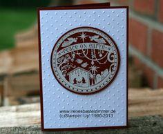 Stampin' Up!-Wonderful Blessing-Weihnachtskarte-Krippe