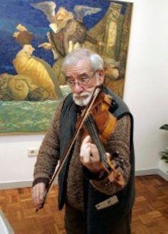 El académico Manuel Alcorlo muestra sus pinturas en Gijón