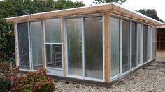 sliding glass door greenhouse 2