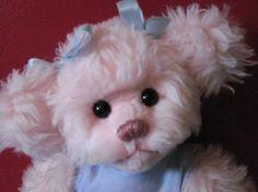 Pinkie Sweetums pink teddy bear