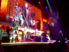 What a concert! Aerosmith at #WMTShares from Canada's front row seats! Cool!!!