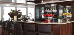 AmaWaterways - Bar aboard AmaDolce