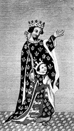 Edward of Woodstock the Black Prince, and his son Richard II.
