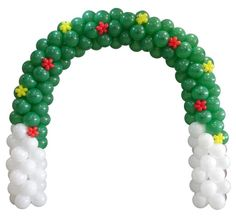 Christmas balloon arch!!!