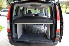 VanEssa Mobilcamping - Camping Ausbau für Deinen Van - T5, T6, Mercedes u.v.m. - Schlafen im Mercedes Vito