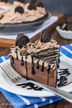 This easy No Bake Chocolate Cream Pie has three creamy layers of chocolate goodness. Perfect dessert to make when it is too hot to bake this summer.