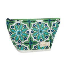 Cinda B Verde Bonita Medium Cosmetic Bag