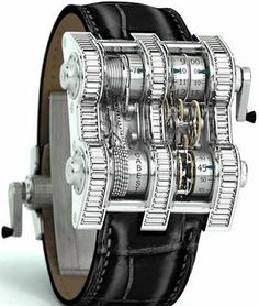 looks like a part of terminator - Industrial awesome watch