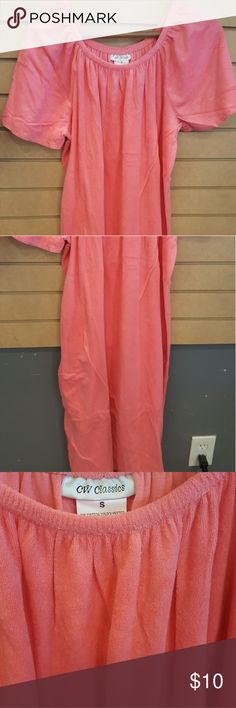Supper soft Terry cloth dress nwt L6 Super soft terry cloth dress L6 salmon color Intimates & Sleepwear
