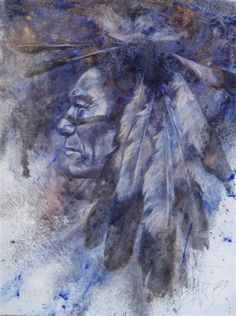 Sacred Feathers ___The Western Art of Michele Zarb...Native Artwork, Images, and Portraits. Painting in Oils, Mixed Media, and Gold leaf, Zarb uses traditional materials to create art with a contemporary flair. She tells stories....of history, aboriginal culture, hardship and love, but most importantly, the human soul.