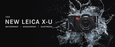 Leica X-U (Typ 113) is a Compact, Rugged Camera for Travel, Adventure & Underwater (Up to 15 Meters; for 60 Min.) Photographers: Waterproof, Shockproof, Dustproof, Fast 23 mm f/1.7 ASPH. (35mm Equivalent) Prime Lens, APS-C 16 MP CMOS Sensor, Full HD Video Function