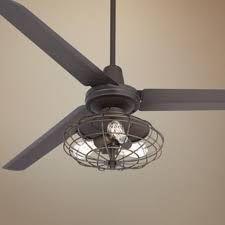 Edison bulb fan