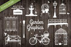 Garden Spring Graphic Illustrations