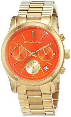 Shop Micheal Kors Women's Quartz Watch Analogue Display and Stainless Steel Strap ✓ free delivery ✓ free returns on eligible orders. Michael Kors Store, Michael Kors Watch, Buy Rolex, Popular Watches, Patek Philippe, Beautiful Watches, Luxury Watches, Cool Watches, Quartz Watch