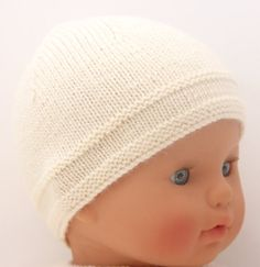Baby Hat / Knitting Pattern Instructions in от LittleFrenchKnits