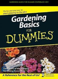 GARDENING BASICS FOR DUMMIES (PAPERBACK) NEW #gadgets #plans #shopping #dummies #parts #camera #tech #kit #gardening #for #technology #racing #products #fpv #drone