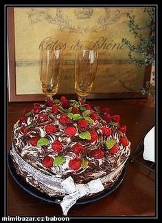 dort Desert Art, Decorative Boxes, Tray, Chocolate, Birthday Cakes, Food, Sweets, Recipes, Gummi Candy