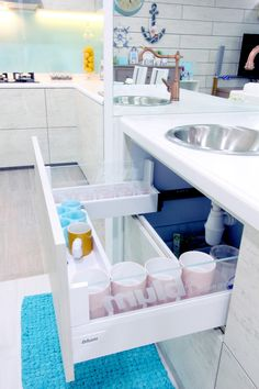 1000 images about kitchens drawers cleaning on for U shaped bathroom design