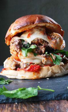 Mega Meatball Sandwiches