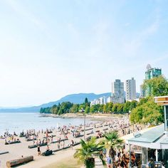 English Bay, Vancouver #vancouverisawesome Waaaaaaiting for summer !!!