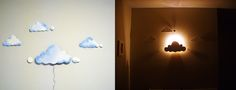 DIY Clouds Night Light
