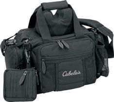 Cabella's Range Bag - Black. This would be nice to have for date night with my wife at the gun range