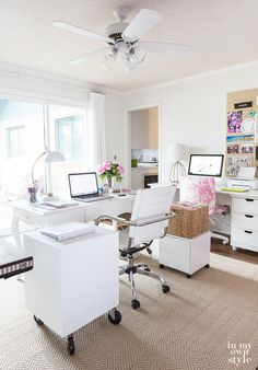 349 Best Home Office Craft Room Images Desk Craft Rooms Cubicles
