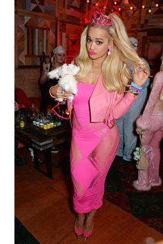 44 best celebrity costume ideas to inspire your fall 2015 Halloween costume: Rita Ora as Barbie