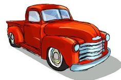 How to draw a Chevy truck -type in Chevy truck