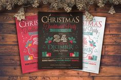 Christmas Flyers Bundle by Zeppelin Graphics on @creativemarket