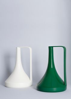Gorgeous pitchers by Stefaniu Vasques for Diamantini & Domeniconi (at least according to Google Translate)