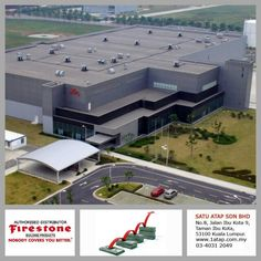 Every masterpiece marks the attainment of its age and endures as profit and prosperity. Your investment in Firestone roofing system bringing you faster to your aim. Firestone Nobody Covers You Better. -Eli Lilly building, China.