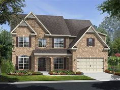 Ryland Homes Chatsworth E of the Arbors at LakeView community in Cumming, GA.