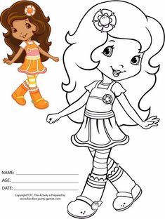 Print Strawberry Shortcake Coloring Pages With Strawberry Shortcake Coloring Sheets – Az Coloring Pages Cute Coloring Pages, Cartoon Coloring Pages, Disney Coloring Pages, Coloring Pages To Print, Coloring Pages For Kids, Free Coloring, Coloring Sheets, Coloring Books, Strawberry Shortcake Coloring Pages