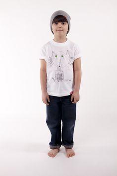 KOT Marcowy / Koszulka Dziecięca