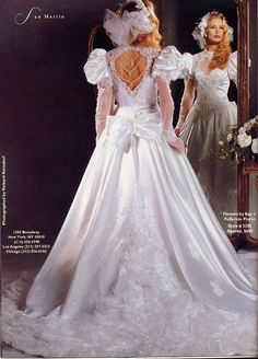 I am glad I didn't get married in the Types Of Wedding Gowns, Beautiful Wedding Gowns, Beautiful Dresses, Ugly Wedding Dress, Top Wedding Dresses, Vintage Gowns, Vintage Bridal, Bridal Style, Bridal Gowns