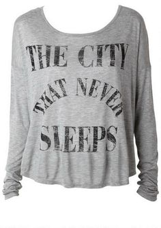 The City that Never Sleeps Tee - View All Tops - Tops - Clothing - Alloy Apparel
