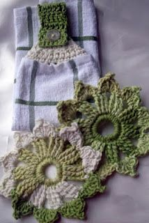 More Crochet Kitchen Items - Free Pattern!