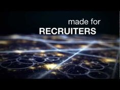mrecGO - Service Promo: Deconstructed and integrated three separate VideoHive templates to compose the final piece.  Introducing a mobile search engine app aimed toward employment recruiters.  The goal was to create a sense for mobile connectivity for an industry where the technology is underutilized.