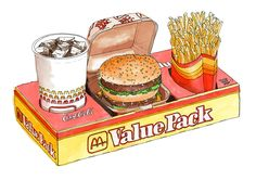 Value Pack by Emma Kelly for The Burgermat Show