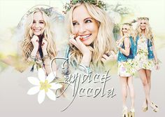 My photo editing Candice Accola for Facebook pages