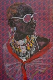 Interview with artist Evans Mbugua about the influence of prints in his work, how growing up in Nairobi inspired him and the necessity of Social Media for artists.