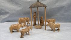 The big five Nativity set